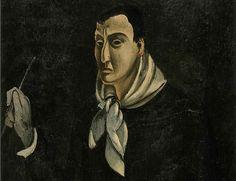 Andre Derain - self-portrait, 1914
