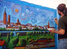 painting Alessio Atzeni