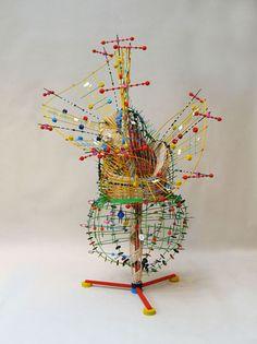 Nathalie Miebach: sculpture