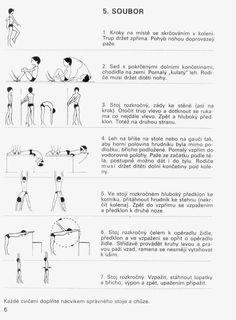 ~ Vše pro tělo ~ - SKOLIÓZA - Cvičení při skolióze a vadném držení těla Fitness Tips, Health Fitness, Pe Lessons, Gross Motor Activities, Scoliosis, Tv, Adhd, Exercises, Fitness Hacks