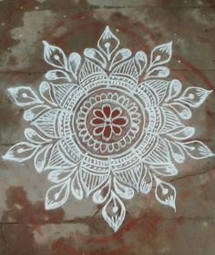 Rangoli Borders, Rangoli Border Designs, Small Rangoli Design, Rangoli Patterns, Rangoli Ideas, Kolam Rangoli, Flower Rangoli, Beautiful Rangoli Designs, Kolam Designs