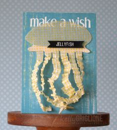 Washi Tape Card - Make a Wish Jellyfish