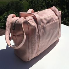 "Tignanello Pink Leather Rectangular Satchel Nice condition.  11"" long, 8"" tall, 3"" wide. Tignanello Bags Satchels"