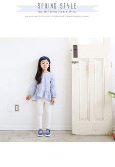韩国女童装【部份码现货】儿童春秋泡泡袖可爱上衫T恤/JNSTO30-WA-淘宝网