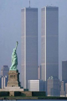 Never Forget. (Photo before: September 11, 2001)