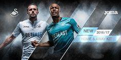 Les Nouveau maillot de foot Swansea City 2016-17 introduisent des conceptions uniques. Fabriqué pour la première fois Joma et parrainé pour la première fois par BETEAST.