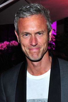 Celebrities with grey hair: Mark Foster - Celebrity silver foxes: Hot men with grey hair