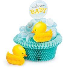 Access Bubble Bath Birthday Honeycomb Centerpiece, 1 Ct