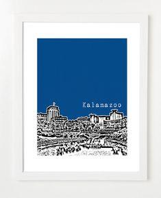 Skyline Print, Kalamazoo.