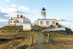 Neist Point Lighthouse & the Oyster Shed, Isle of Skye