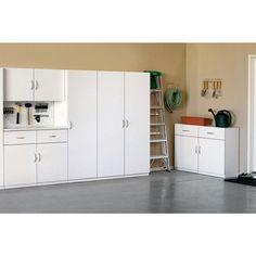 ClosetMaid 48 in. Multi-Purpose Wardrobe Cabinet in White-12336 - The Home Depot