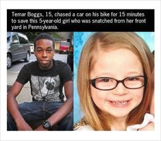 Temar Boggs saved a 5-year-old girl who was snatched from her front yard.