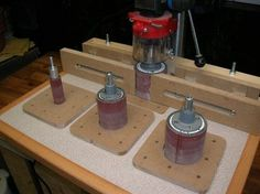 Drill press and sander table:
