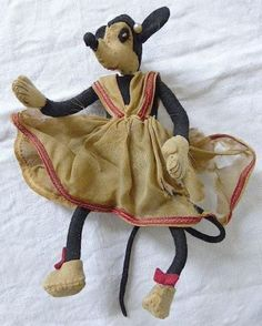 old minnie mouse doll 1930's