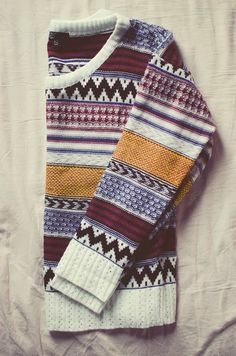Comfy Casual Aztec Sweater