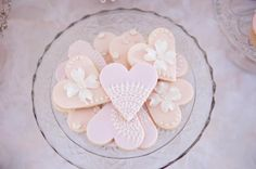 Peach And Pink candles | Pink Christening Party via Kara's Party Ideas | KarasPartyIdeas.com # ...