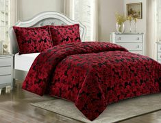 Jacquard Quilted Bedspread Comforter Set Bed Throw OR Eyelet Ring Top Curtains Bedspreads Comforters, Quilted Bedspreads, King Size Bedding Sets, Comforter Sets, Double King Size Bed, Bed Throws, Bed Spreads, Cushion Covers, Pillow Cases