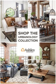Introducing Ashley's Lifestyles: furniture and accessories for every taste _ including yours. Explore the pallets of Urbanology, Vintage Casual, Contemporary Living, New Traditions or Grand Elegance and find just what you're looking for _ all while staying under budget.