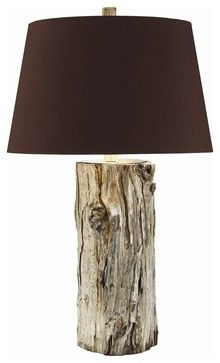 Goldberg Tall Lamp - eclectic - table lamps - Masins Furniture