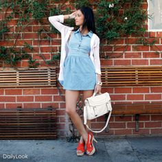 Check out Sweet Street Chic Look by Mustard Seed and Kerisma   at DailyLook