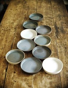 Cazuela by Humble Ceramics. Prefer gray-green color third from left to match bowl we already have, but like other colors, just not black.