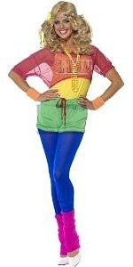 Onwijs De 20 beste afbeeldingen van Costume ideas: aerobics outfit   80 TO-02