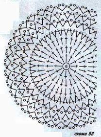 Crochet Pillow Patterns Part 11 - Beautiful Crochet Patterns and Knitting Patterns Crochet Rug Patterns, Crochet Pillow Pattern, Crochet Diagram, Crochet Chart, Crochet Motif, Pillow Patterns, Crochet Dollies, Crochet Flowers, Crochet Tablecloth