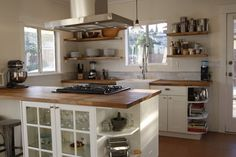 The Kitchen In A Recent Remodel Of 100 Year Old Craftsman Bungalow