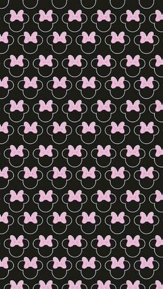 Shared by S A L M A. Find images and videos about wallpaper, disney and background on We Heart It - the app to get lost in what you love. Wallpaper Do Mickey Mouse, Disney Phone Wallpaper, Cellphone Wallpaper, Pink Wallpaper, Pattern Wallpaper, Wallpaper Backgrounds, Iphone Wallpaper, Disney Background, Minnie Mouse Background