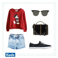 Keds outfit <3 more my style