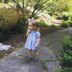 Little Miss Molly McLean we just can't get enough of you! Monday just got a whole lot better seeing this cutie in her Mommy's 30 year old vintage Feltman Brothers dress!  http://feltmanbrothers.com