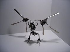 Fork Art Sculptures - Picsmo