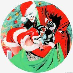 Happy Christmas, Batman by Alex Ross