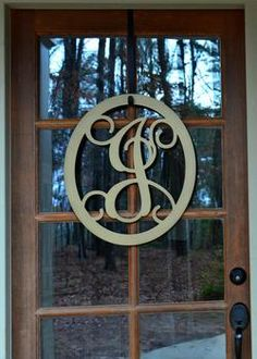 Metal Monogram Letter, Metal Monogram Door Hanger, Wall Art Metal Worx, Joanna Gaines Style, Backyard Bbq, Custom Metal, Letter Art, Monogram Letters, Map Art, Door Hangers, Metal Wall Art