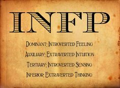 infp mbti #mbti #archetypes http://www.personalitypage.com/INFP.html