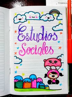 Como decorar libretas escolares, decoracion de libretas, como decorar cuadernos, ideas para forrar cuadernos tumblr, como decorar cuadernos para niñas, cuadernos decorados, libretas decoradas, cuadernos decorados con foami, ideas para decorar cuadernos, ideas para decorar libretas, como decorar un cuaderno con foami, decoracion de cuadernos, como decorar cuadernos faciles, como decorar cuadernos para niños, ideas para libretas facil #comodecorarcuadernos #comodecorarlibretas Front Page Design, Page Borders Design, Border Design, Notebook Art, Notebook Design, Bullet Journal School, Bullet Journal Inspo, Astronaut Drawing, Pikachu Art
