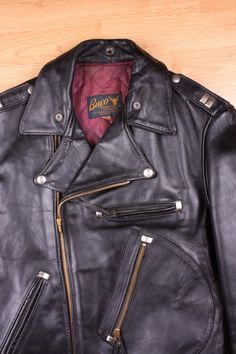 Buco J-82 Leather Jacket and excellent spot working!