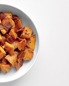 Roasted Sweet Potatoes and Bacon - Martha Stewart Recipes