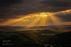 When heaven it open Before Sunset, Medieval Castle, My Photos, Heaven, Sky, Facebook, Outdoor, Instagram, Outdoors
