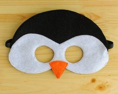 Penguin Mask ADULT by oppositeoffar on Etsy, $18.00