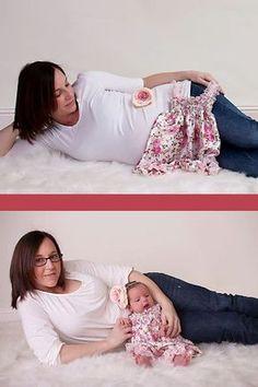 ideias de fortografias antes depois gravidez 9