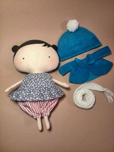 Doll clothes Tilda doll Gift for girls  Rag by HandmadeToyStore