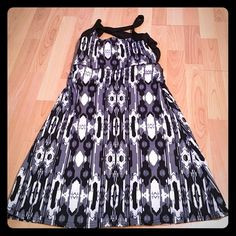 Black and white tennis dress Never worn. Measures 26 inches from bust to bottom. Has a built in non padded bra. Polyester/spandex mix Soybu Dresses                                                                                                                                                     More