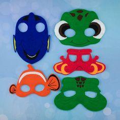 Máscaras de océano  fieltro máscaras  vestir  búsqueda de