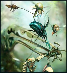 Salsa Invertebraxa - Egg Retrieval by m0zch0ps on deviantART