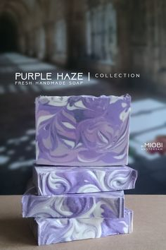 Purple Haze | soap collection. Soon on bymiobi.etsy.com