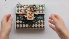 Graphic 45 Curiosity Shop Mini Album