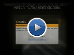 Gamezbots, a renowned name when it comes to offering mobile services is running another contest for members. Visit : http://m.gamezbots.com/
