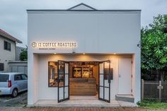 24 Fascinating Coffee Roaster For Grill Coffee Roaster Hottop Cafe Shop Design, Cafe Interior Design, Store Design, Cafe Exterior, Exterior Signage, Ranch Exterior, Small Coffee Shop, Coffee Store, Restaurant Signage