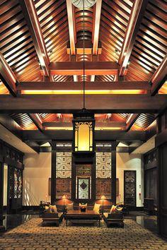 lobby at Aman at Summer Palace